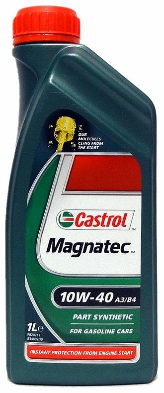 Olej motorový Castrol magnatec 10W-40 1L A3/B4 Nářadí 0.9Kg AT-90643