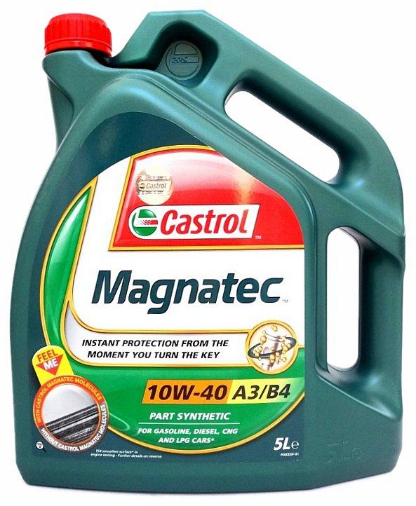 Olej motorový Castrol magnatec 10W-40 5L A3/B4 Nářadí 4.5Kg AT-90644