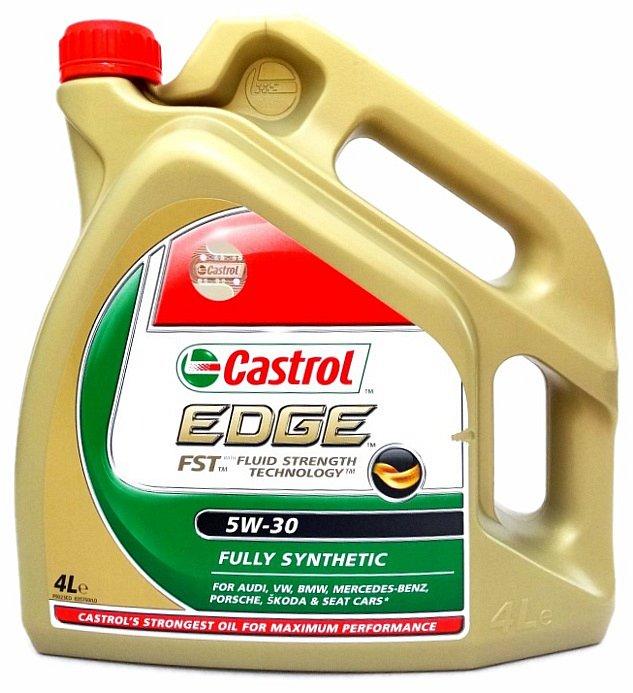 Olej motorový Castrol EDGE 5W-30 4L (LL - TITANIUM)