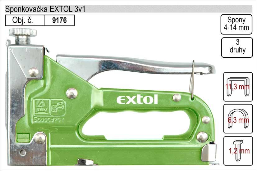 Sponkovačka Extol 9176