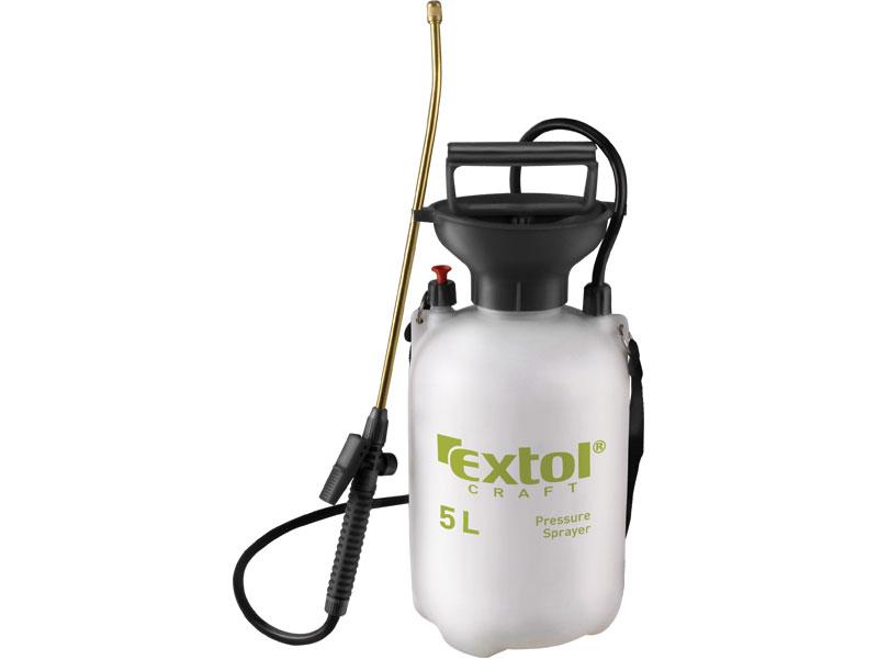 Postřikovač tlakový  přes rameno se zásobníkem 5 litrů  Extol