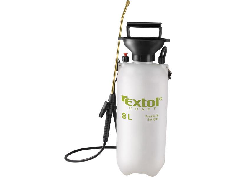 Postřikovač tlakový  přes rameno se zásobníkem 8 litrů  Extol