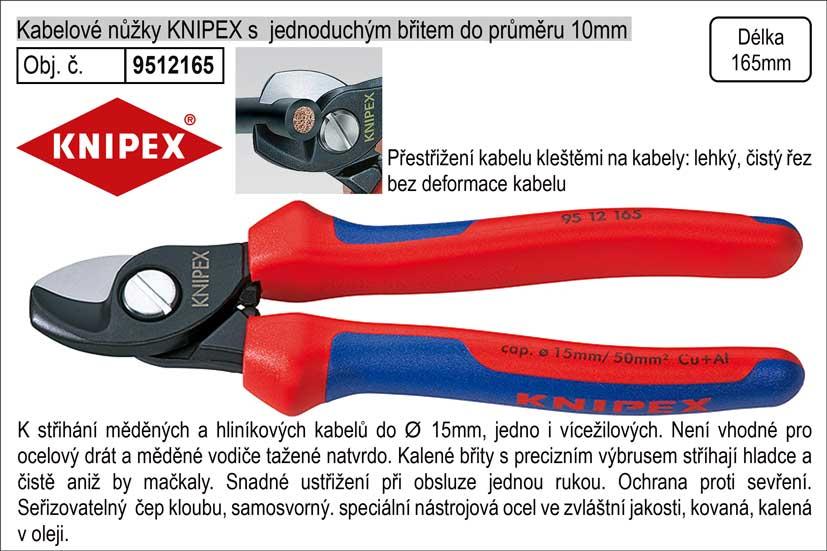 KNIPEX štípací kleště na kabely