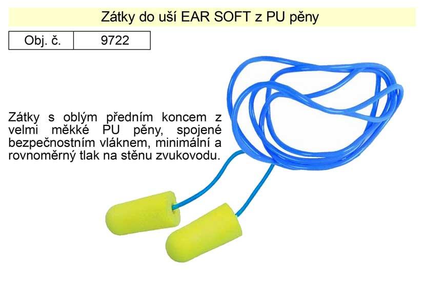 Zátky do uší Ear Soft z PU pěny