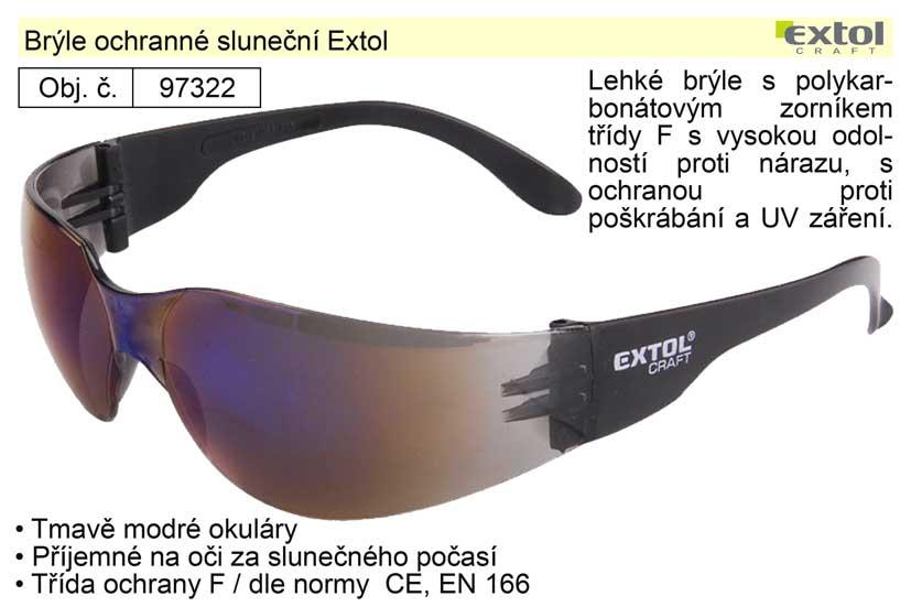 Brýle ochranné sluneční 97322 Extol