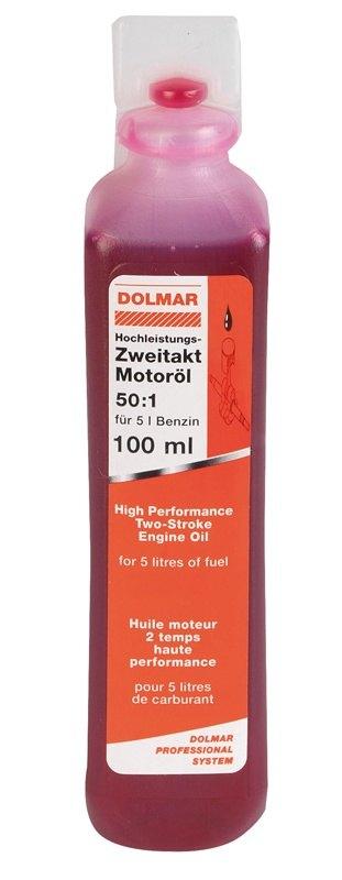 DOLMAR - motorový olej dvoutaktní 1:50 100ml Nářadí 0.1Kg 980008106