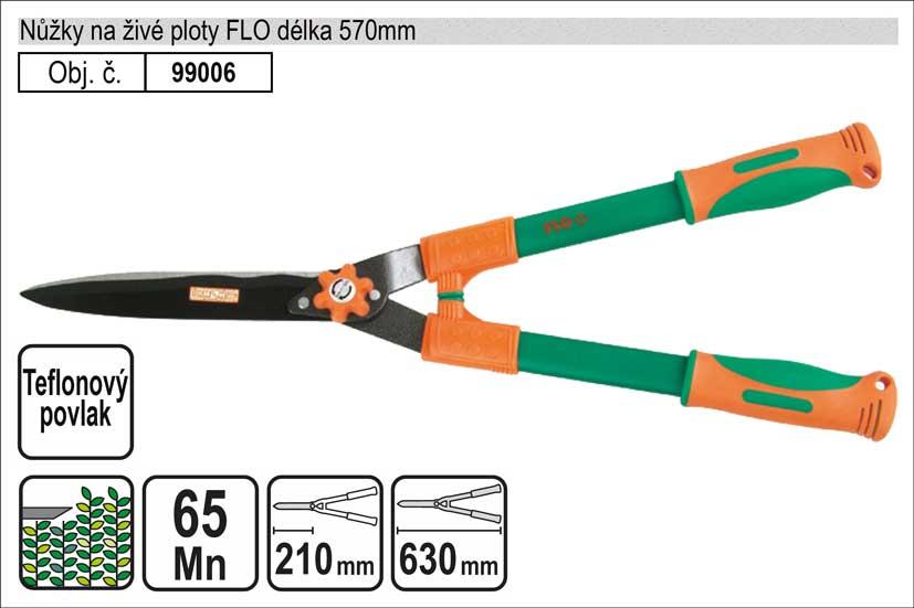 Nůžky na živé ploty FLO 570mm