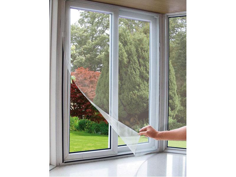 síť okenní proti hmyzu, 90x150cm, bílá, PES, EXTOL CRAFT