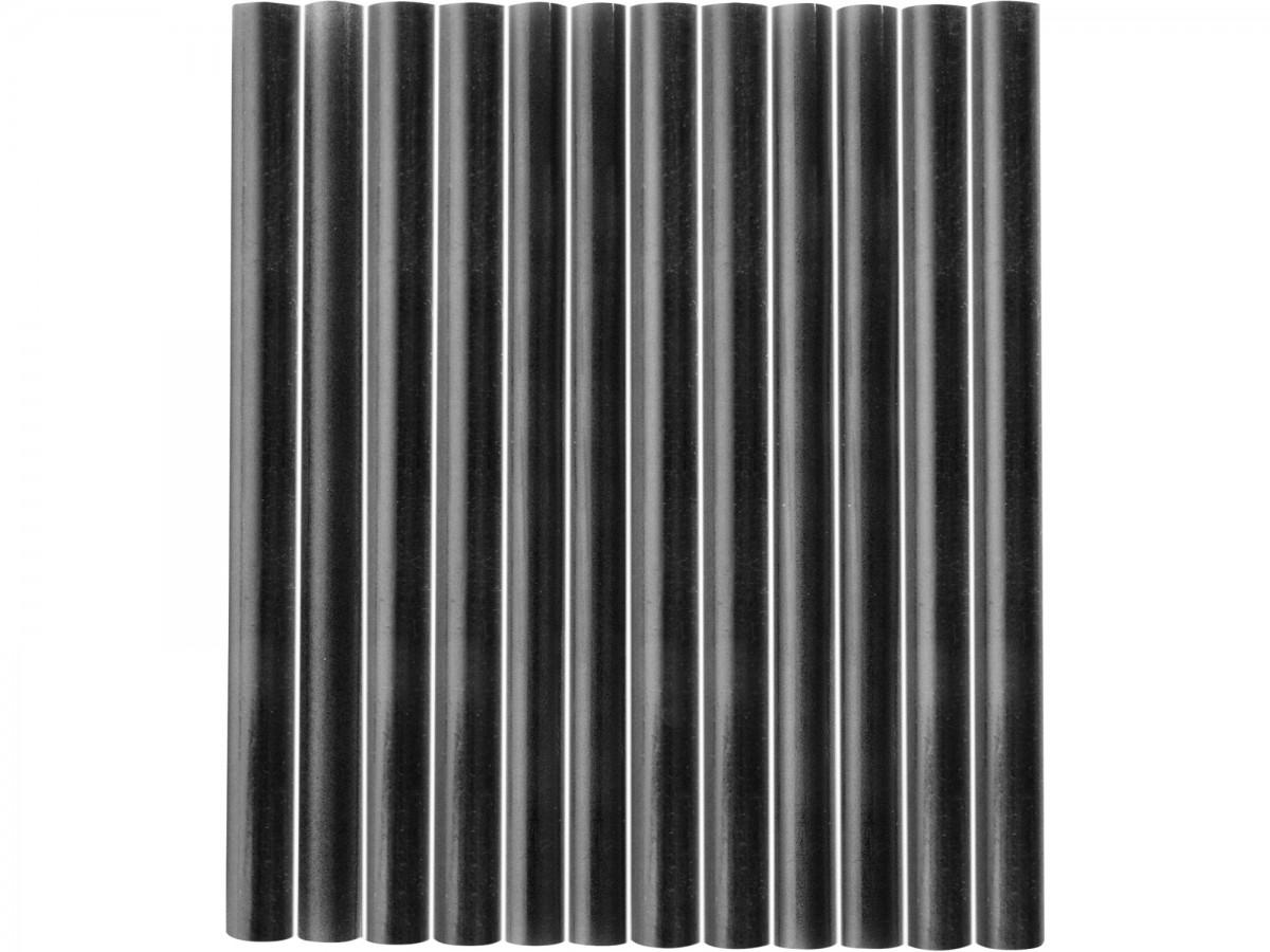 EXTOL CRAFT tyčinky tavné, černá barva, pr.7,2x100mm, 12ks  9912