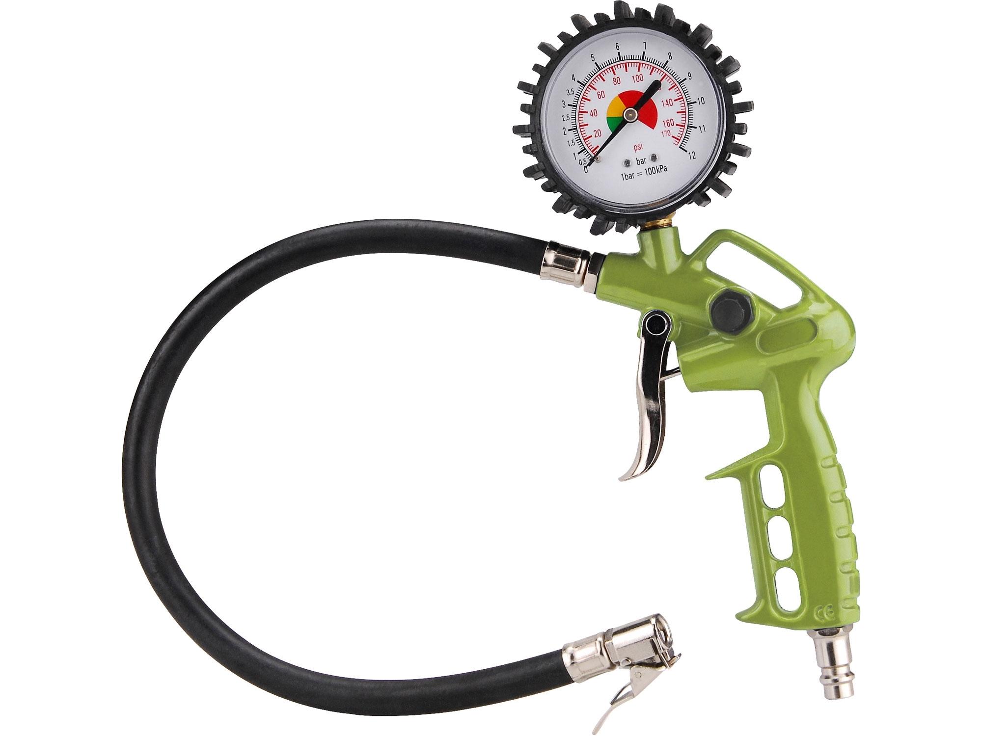 plnič pneumatik smanometrem, EXTOL CRAFT, pneuhustič