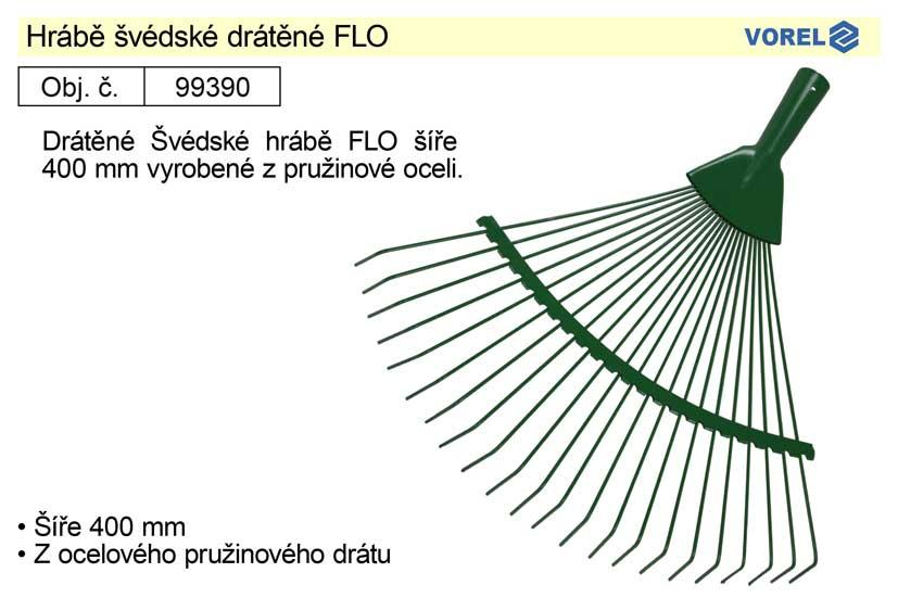 Hrábě švédské drátěné FLO