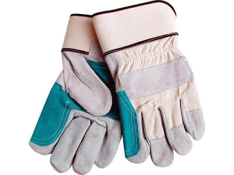 "rukavice kožené silné s podšívkou v dlani, 10"", velikost 10"", EXTOL PREMIUM"