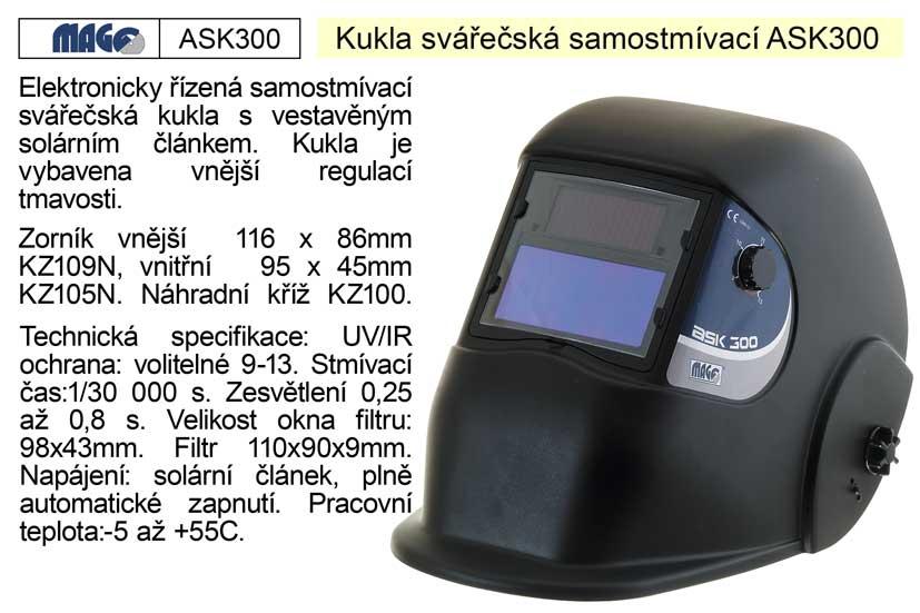 Svářecí kukla samostmívací ASK 300