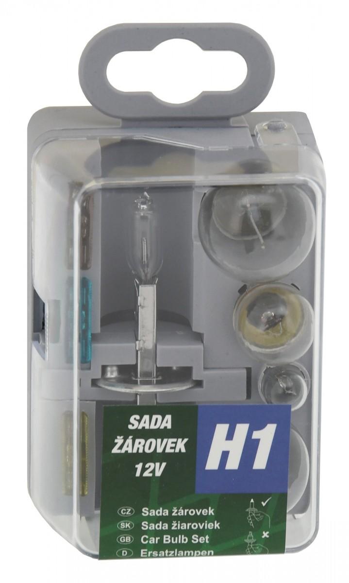 Žárovky servisní box univerzální H1 Nářadí 0.086Kg AT-08532