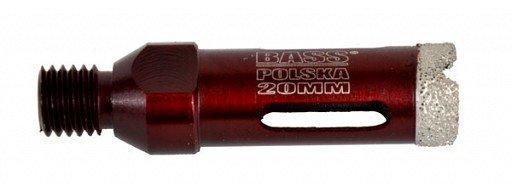 Diamantový korunkový vrták 20mm, M14, BASS
