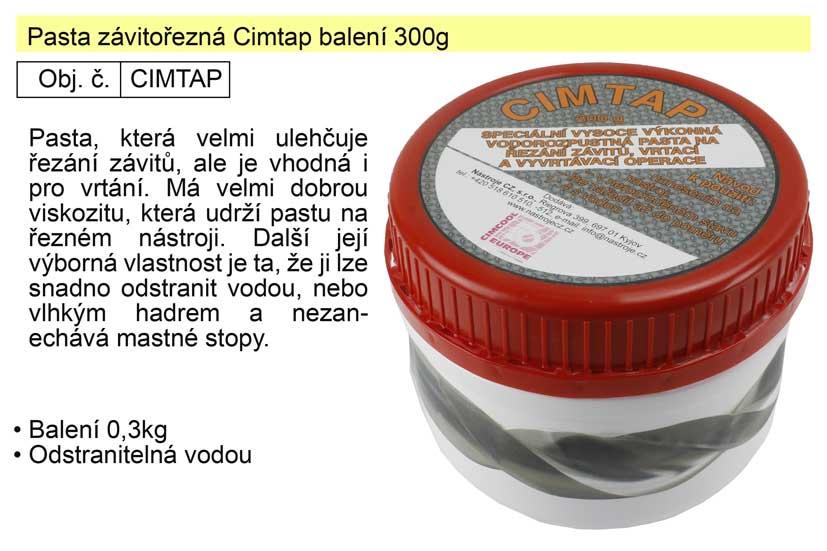 Pasta závitořezná Cimtap balení 300g Nářadí 0.352Kg CIMTAP
