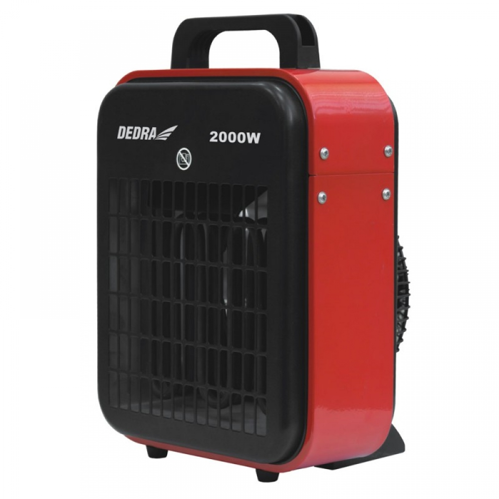 Elektrické topidlo 2,0kW/230V s horkovzdušným ventilátorem 400m3/h