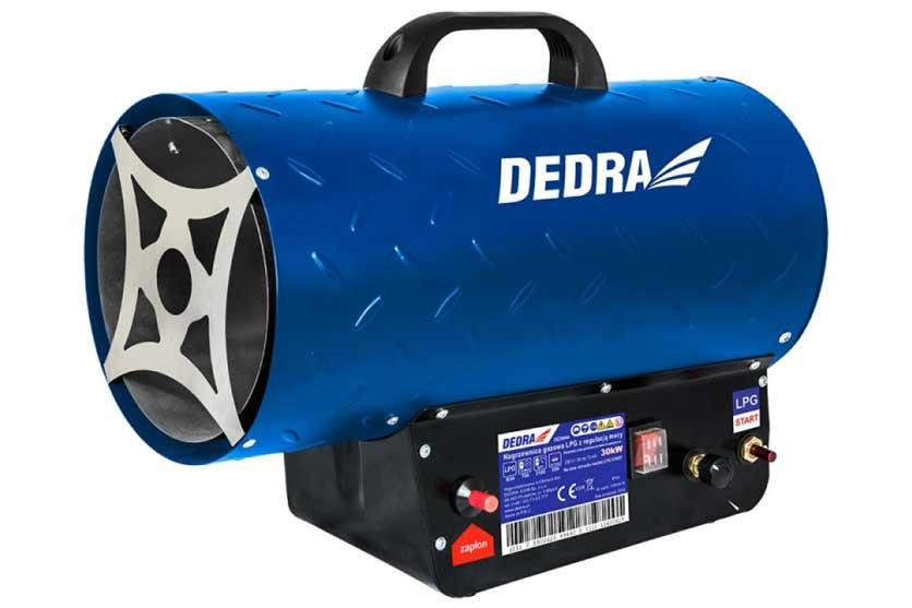 Plynové topidlo 18-30kW/230V plynový ohřívač s ventilátorem 500m3/h