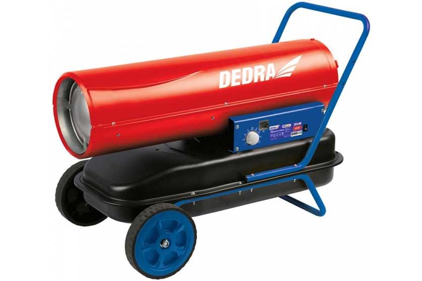 Naftové topidlo 30 kW s regulací ohřívačce ventilátorem 720 m3/h