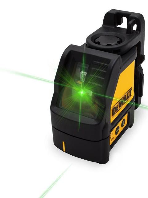 Dewalt DW088CG zelený křížový laser