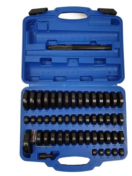 SILVER Sada na lisování ložisek 18-74mm, 52 dílů