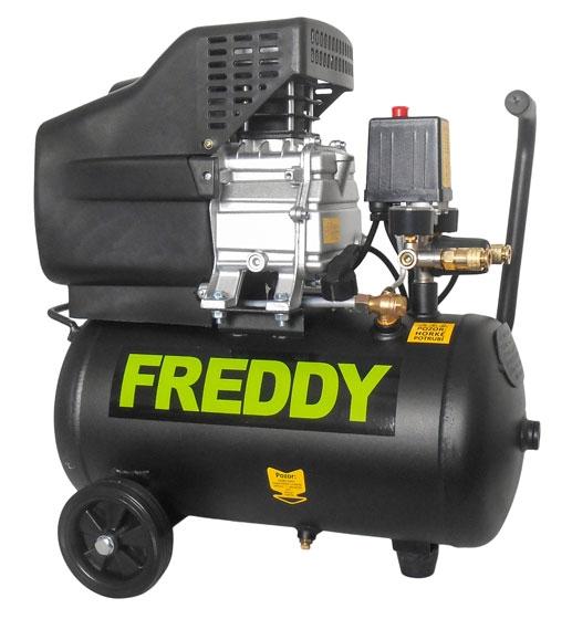 Kompresor olejový jednopístový 24L 1,5kW / 230V FREDDY