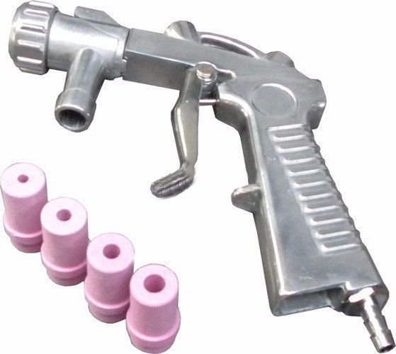 Pískovací pistole, 4 keramické trysky GEKO
