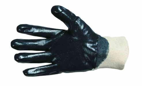HARRIER - rukavice polomáčený nitril pružný úplet velikost 08