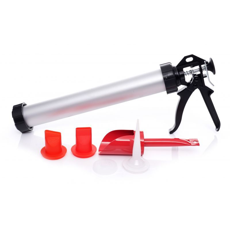 KRAFT&DELE Výtlačná spárovací pistole, 5x koncovka KD10369