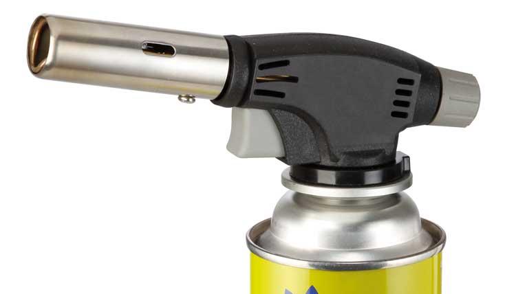 MEVA plynový hořák, pájecí souprava 1 KW