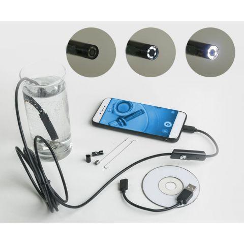 Endoskopická HD kamera, voděodolná, USB KAXL KT-5999