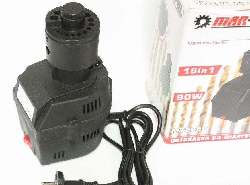 Elektrická ostřička vrtáků 3-10mm 90W MAR-POL