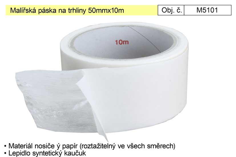 Malířská páska na trhliny 50mmx10m