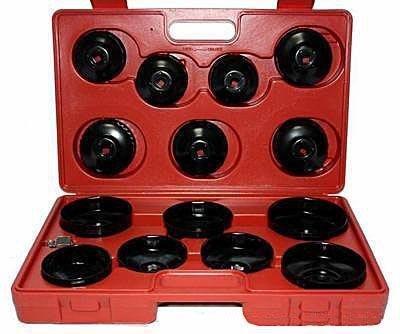 Sada klíčů na olejové filtry, 14 ks, MAR-POL Nářadí 2.701Kg M57610