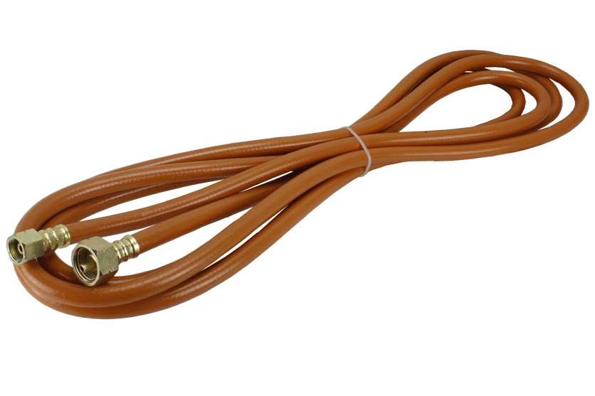 Hadice plynová délka 5m pro připojení přímo k lahvi 10 a 30kg  LPG