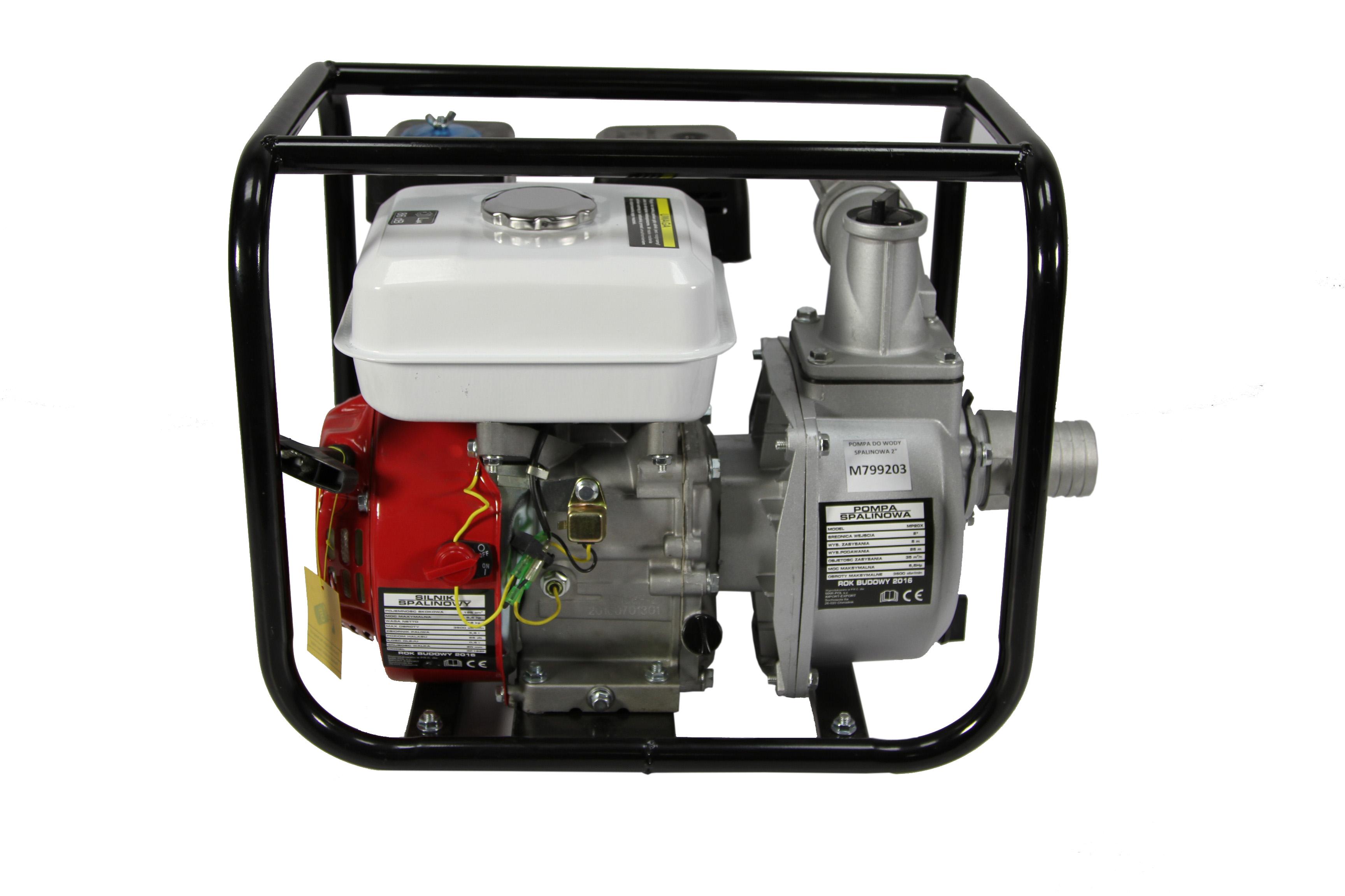 """Benzínové vodní čerpadlo 2"""" WP-20 MAR-POL"""