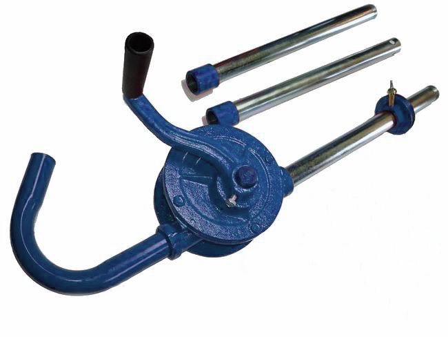 Pumpa výčepní na benzin sudová a technické kapaliny MAR-POL modrá