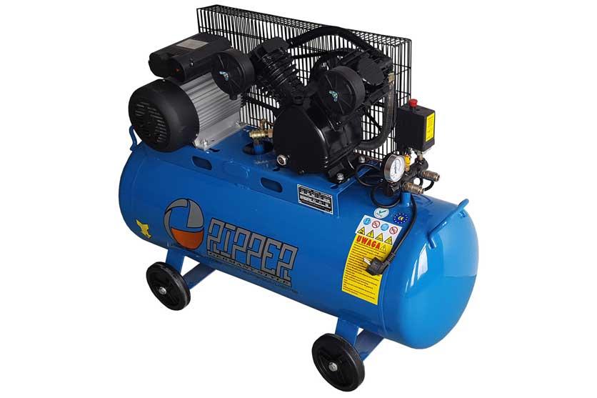 Kompresor olejový dvoupístový 100L 3HP / 2200W / 230V RIPPER