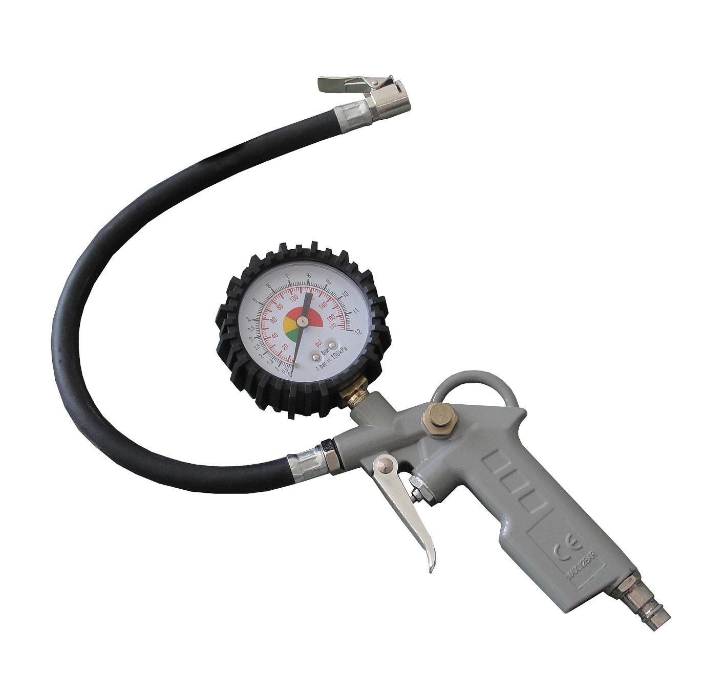 Plnič pneumatik s manometrem 0,8 MPa MarPol
