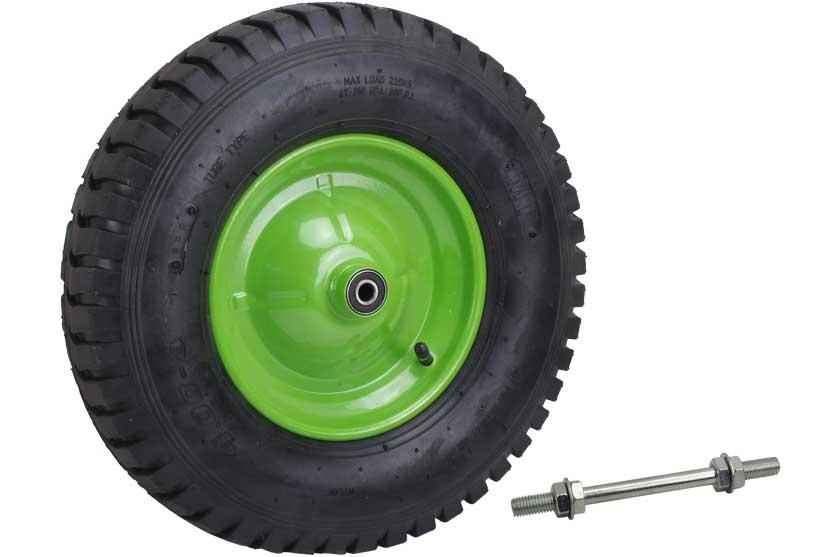 Bantamové kolo ke kolečku nafukovací průměr 400mm s ložisky