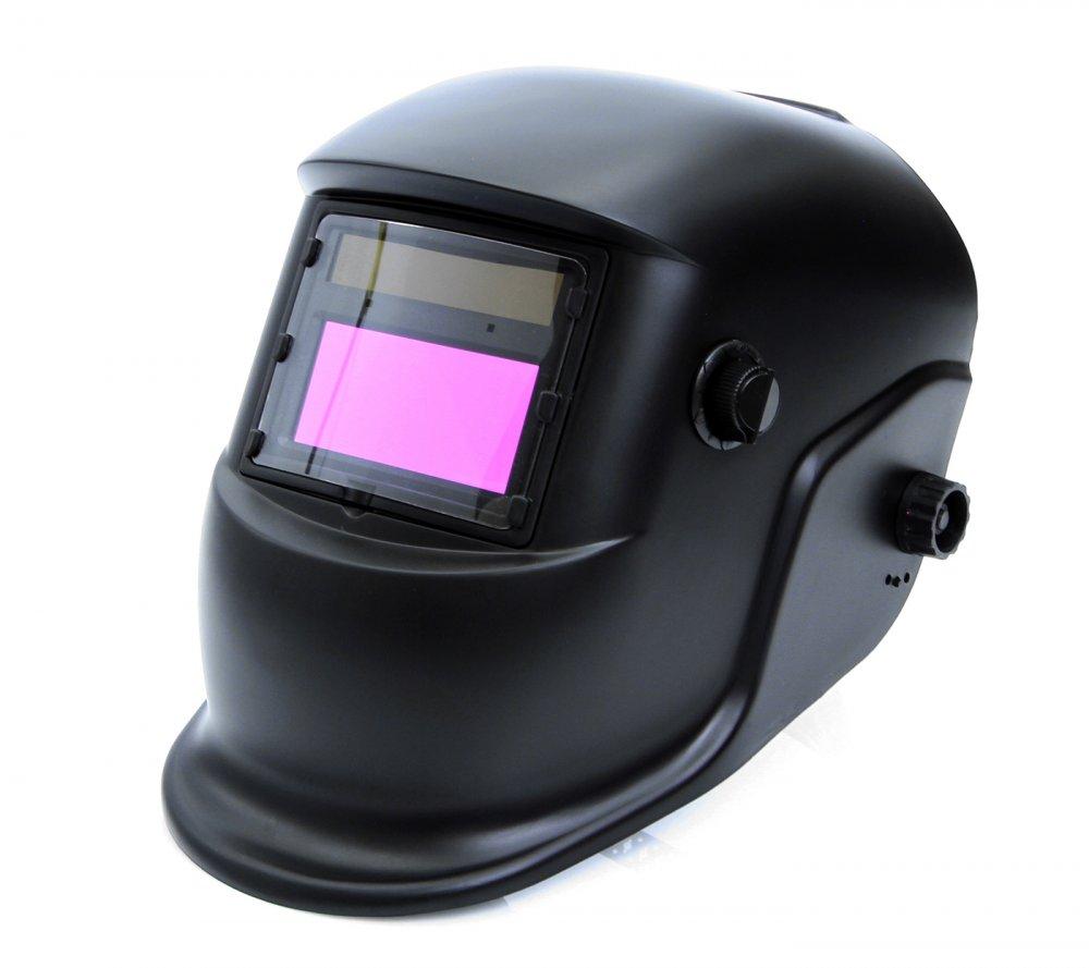 Svářečská kukla samostmívací černá, matná MAR-POL