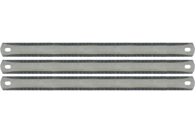 Pilové  listy na kov, 3 kusy, , délka 300  mm, oboustranné, Extol Craft
