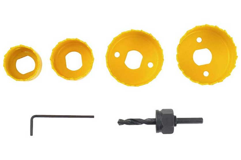 Vrtáky vykružovací bimetalové miskové sada 6 dílů 32-54mm Nářadí 0.28Kg MA1808