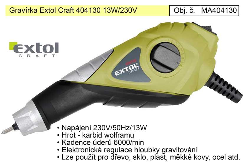 Gravírka Extol Craft 404130 napájená ze sítě 230V