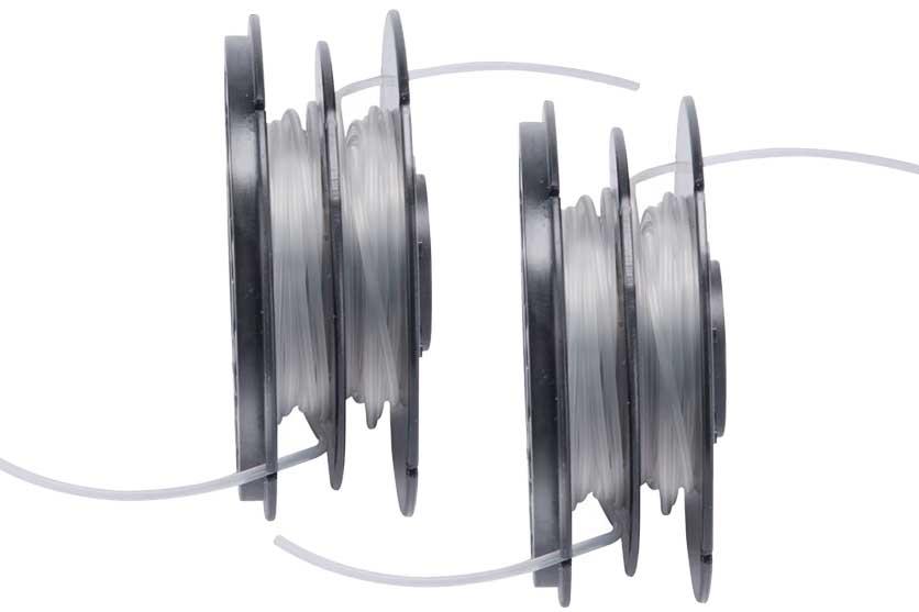 Cívka s navinutou strunou balení 2 kusy pro sekačku Extol 416125