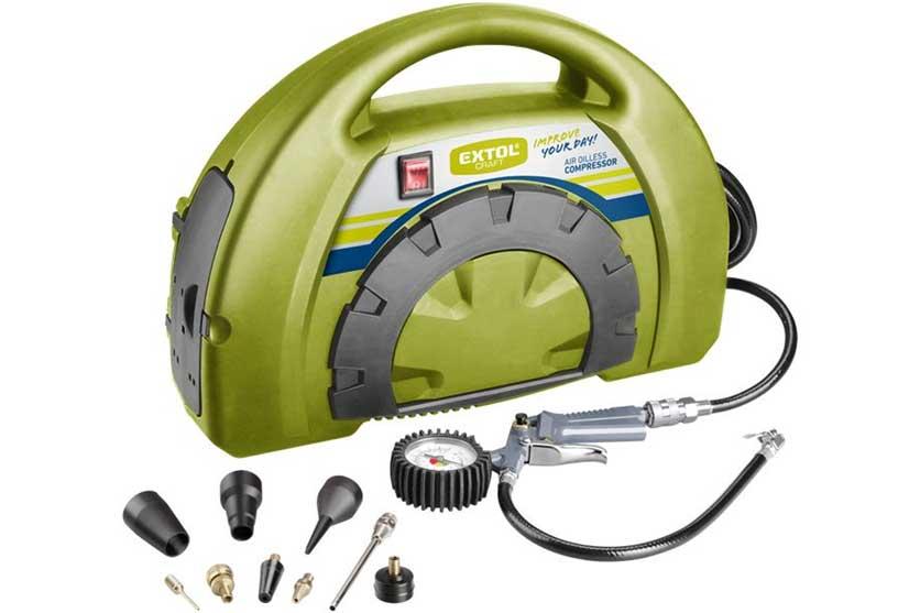 Kompresor Extol Craft 418101 bezolejový 230V / 1100W