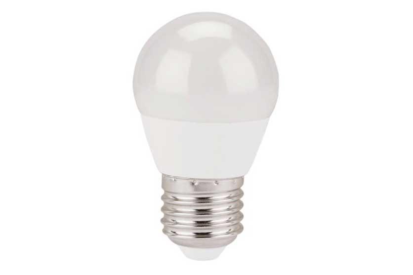 Žárovka LED mini, 5W, 410Lm, E27, teplá bílá, EXTOL LIGHT 43006 Nářadí 0.061Kg MA43006