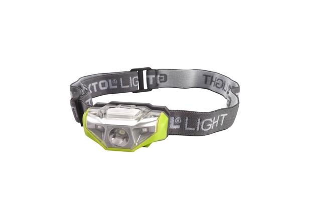 Čelová svítilna LED 1W 40lm 1+2 LED Extol