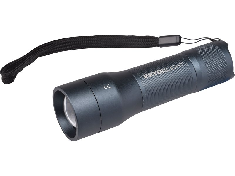 svítilna 250lm CREE XPG, zoom