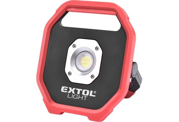 Reflektor LED  10 W / 1200 lm na baterie stojánkem Extol